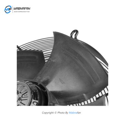 FTP 4E-600S هواکش صنعتی زیلابک تصویر از پروانه